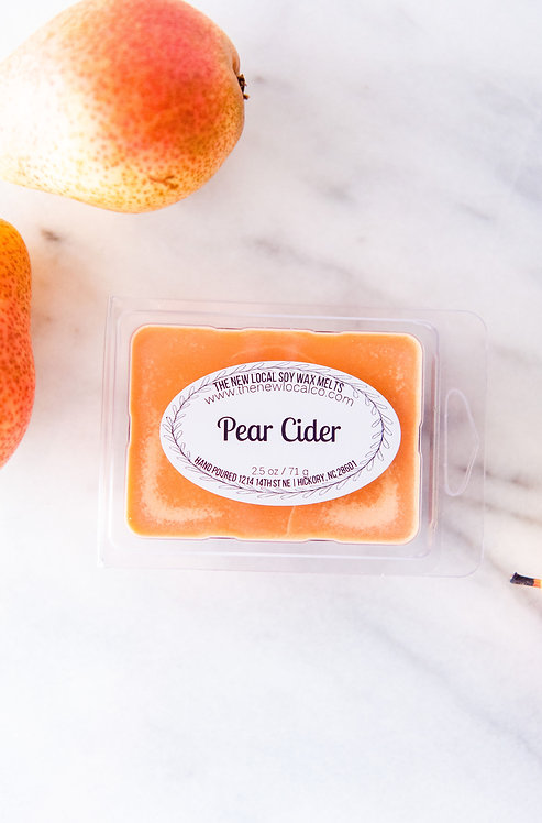 Pear Cider 2.5 oz Wax Melt Pack