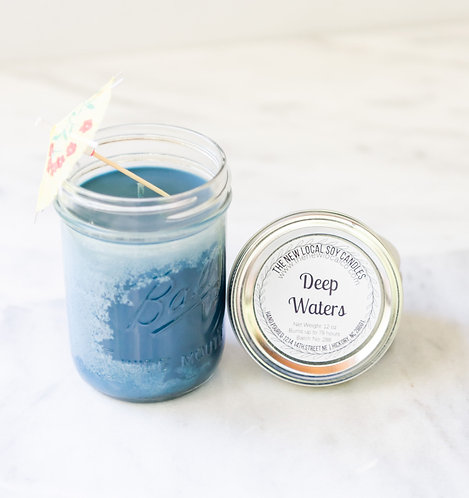 Deep Waters 12 oz Candle