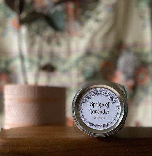 Sprigs of Lavender 5.6 oz Wax Melts Jar