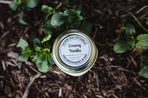 Creamy Vanilla 6 oz Candle