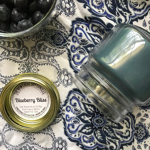 Blueberry Bliss 6 oz Candle