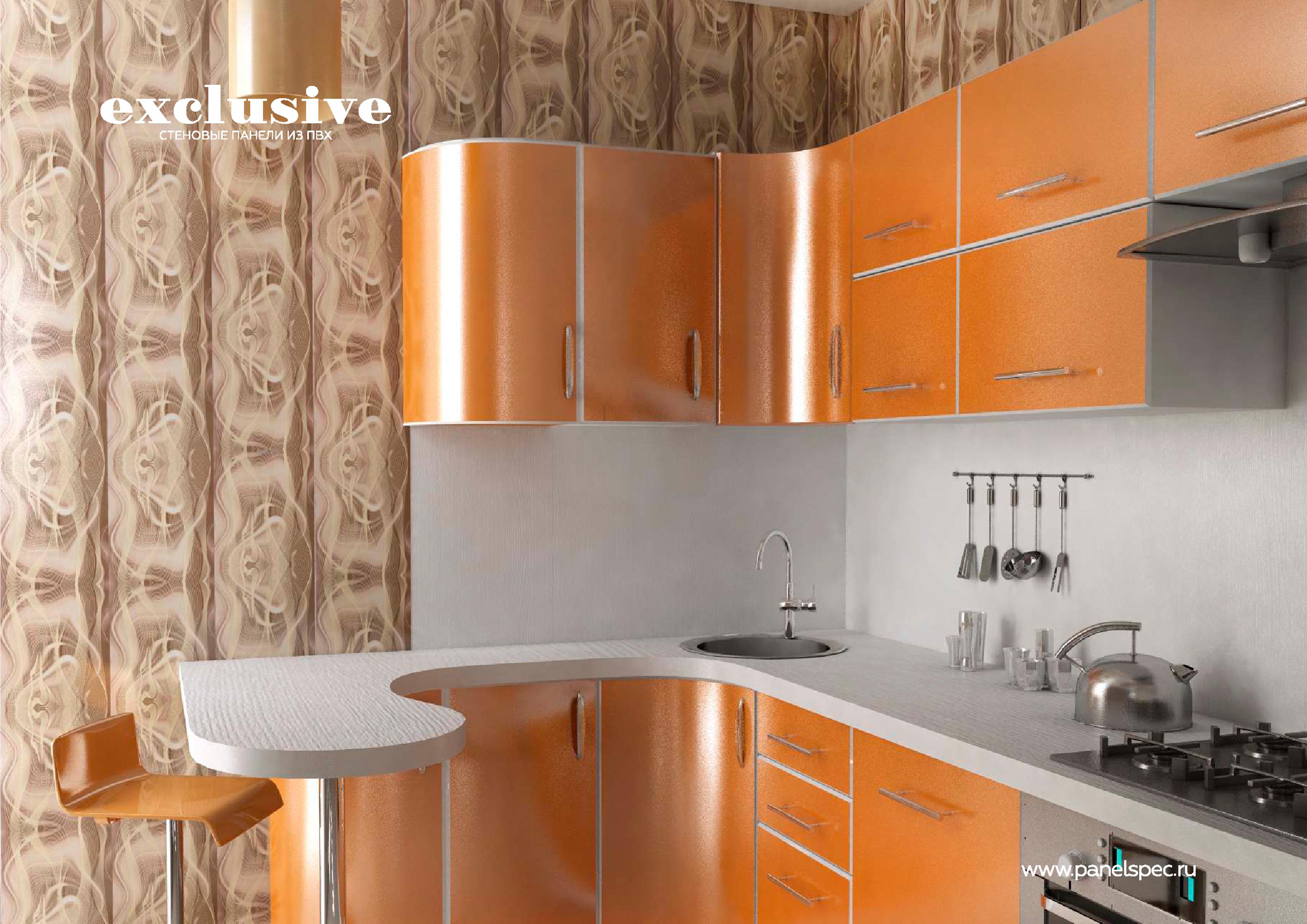 ПВХ панели для кухни | Каталог