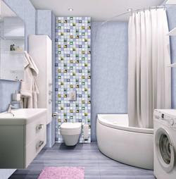 ПВХ панели в ванную