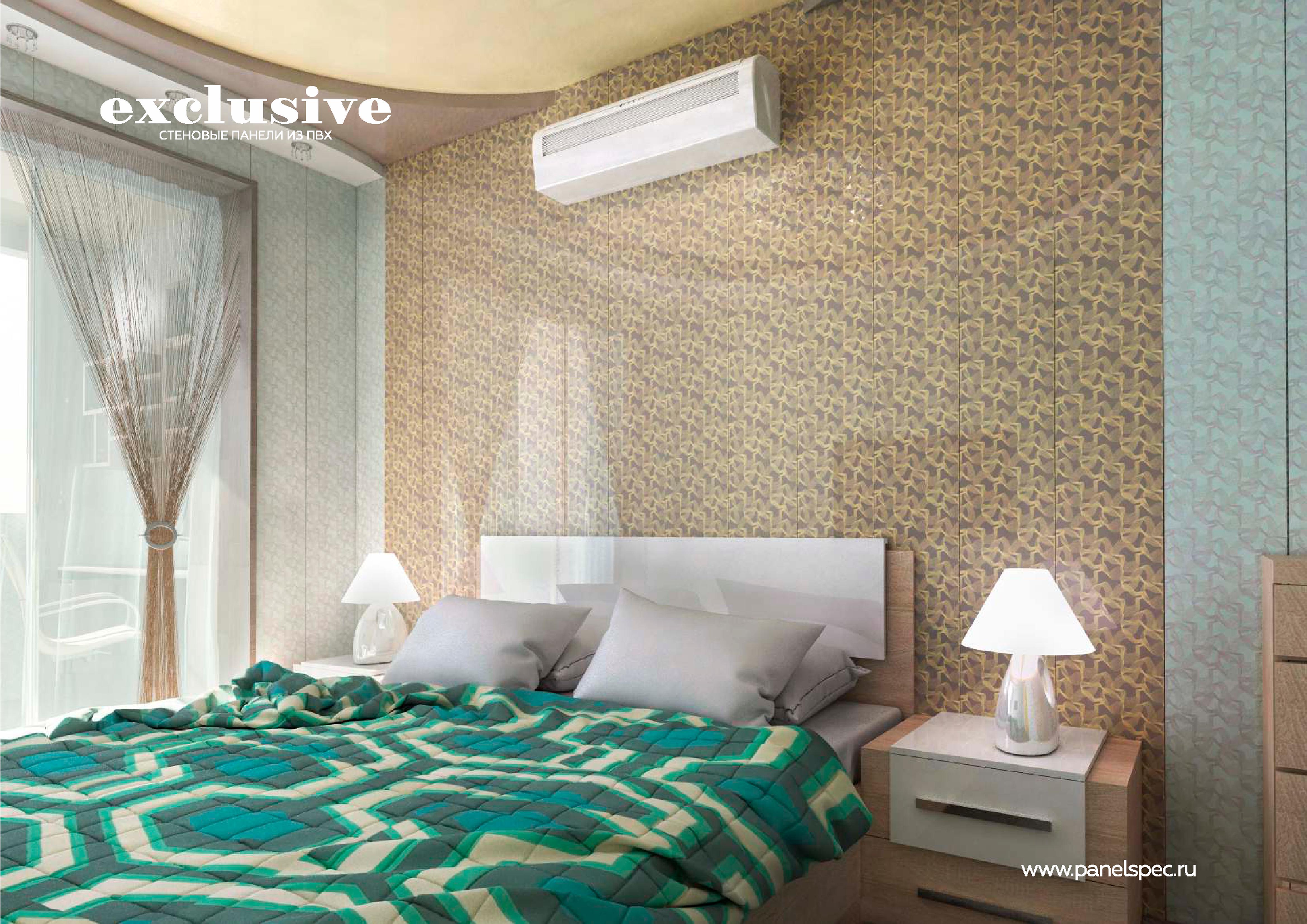 ПВХ панели для спальни| Каталог