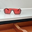 Thumbnail: Red Dencia Billionaire crystal-embellished sunglasses Gold