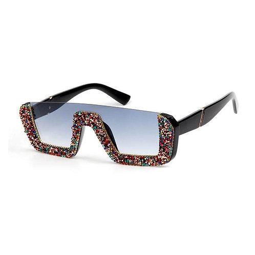 Multi colored Dencia Billionaire crystal-embellished sunglasses