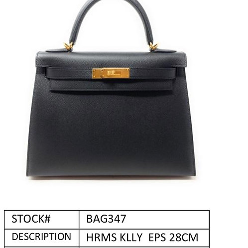 Brand new black kelly Epsom