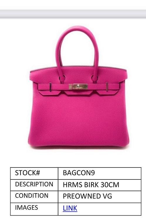 Pink PreOwned 30CM Hermes Birkin