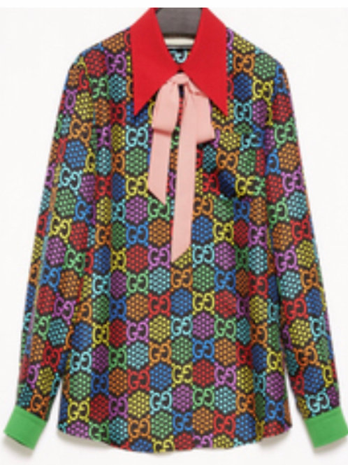 Gucci Psychedelic blouse