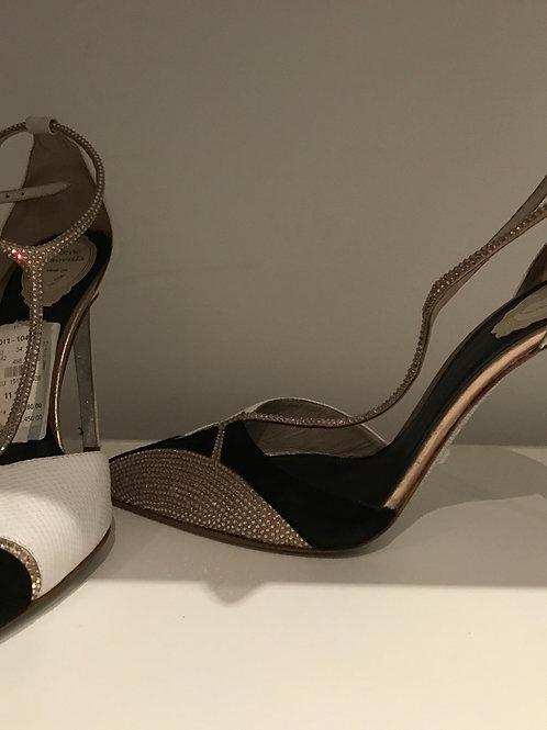 41.5 slightly worn Rene caovilla shoes