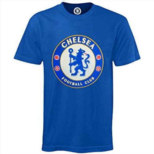 Chelsea T shirt (Signed By Player Of Your Choice)