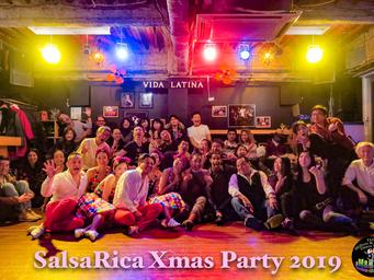 SalsaRica Xmas Party 2019