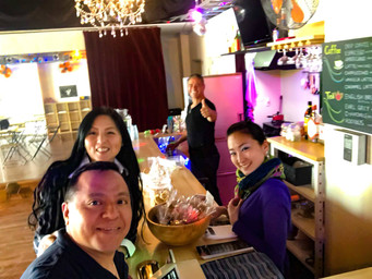 Vida Latina Artists Cafe&Barの週末カフェタイム