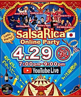 SalsaRica Online Party