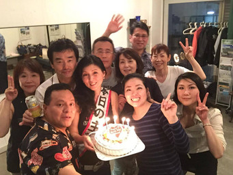 Birthday Salsa @ 赤穂美紀サルサ道場