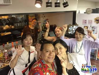Potluck Party@Salud Kobe
