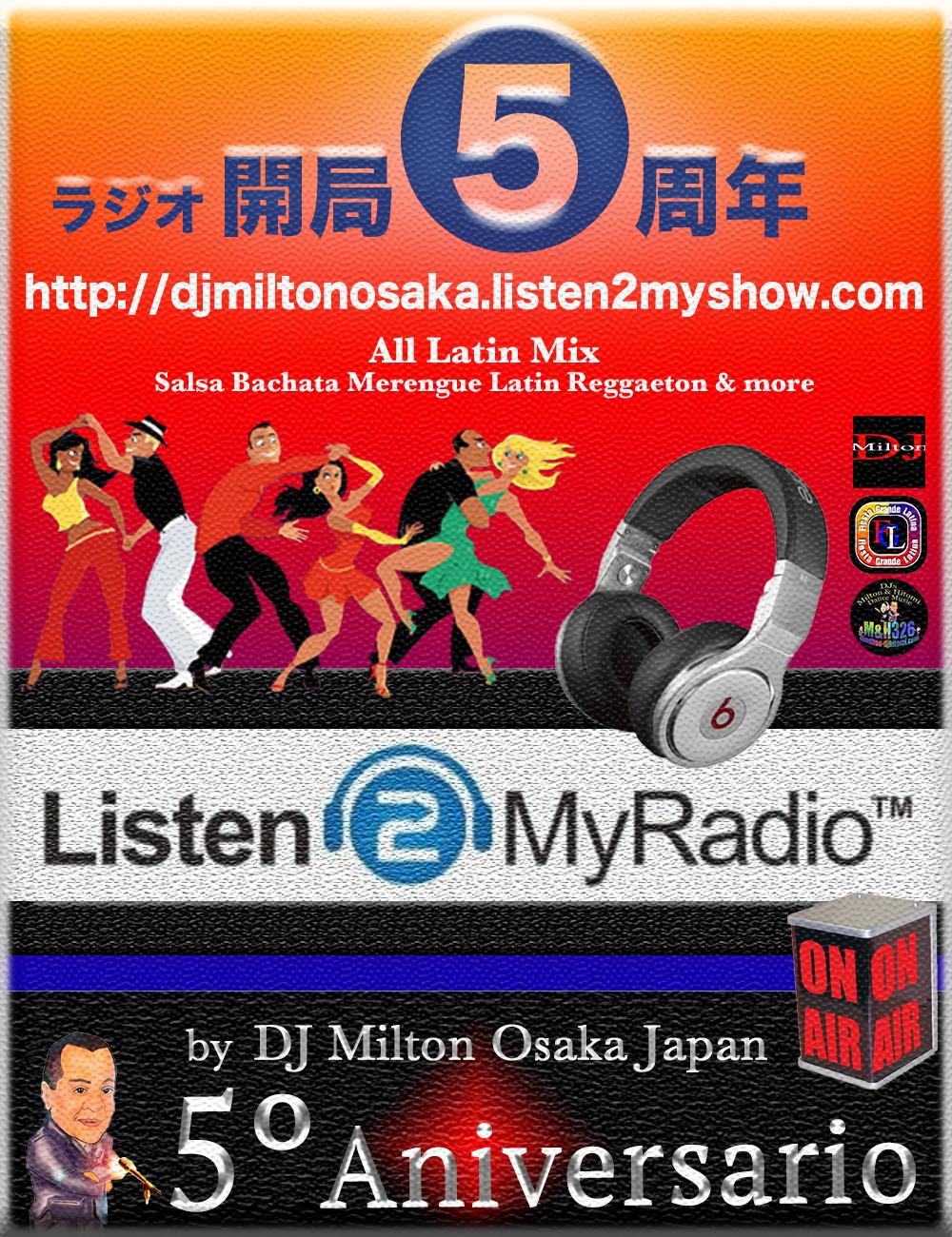 DJ Milton Radio 5 周年!