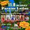 明日11/8(日) Paraiso Latino@Maharaja Minami