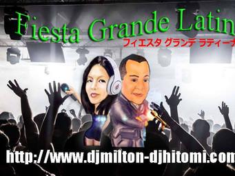 """""""Fiesta Grande Latina""""フィエスタ グランデ ラティナ グループへようこそ!"""