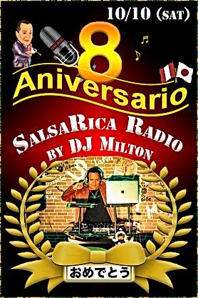 Radio _SalsaRica_ 8 Aniversario _ 8周年アニバ