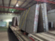 granite truk, slabs load, granite load