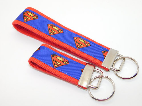 Superman Comic Logo Key Chain