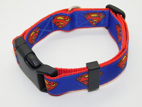 Superman Comic Logo Collar