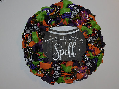 Come In Halloween Wreath