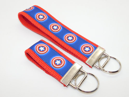 Captain America Shield Key Chain