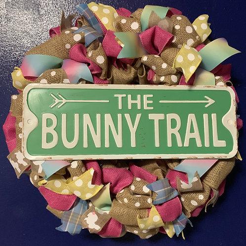 The Bunny Trail Decorative Wreath