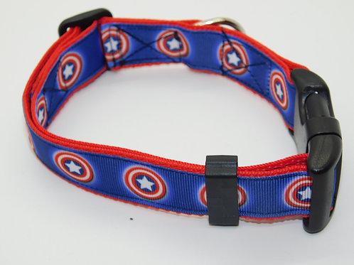 Captain America (shield) Collar