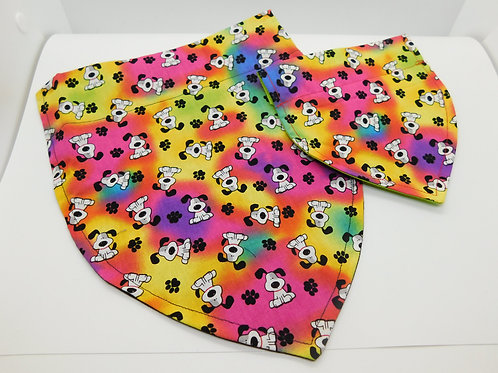 Colorful Puppies Bandanna