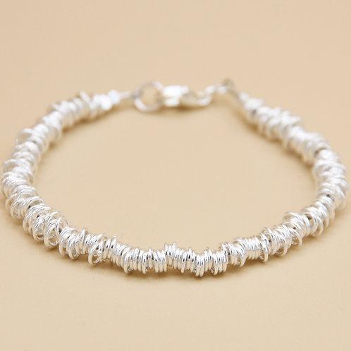 "Silber Armband ""Ring"""