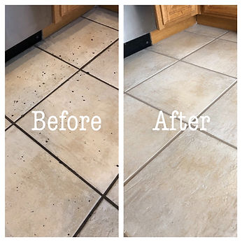 before and after tile cleaning service las vegas, nevada