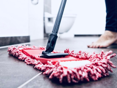 Wet mopping VS Dry mopping 🥊