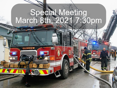 Special Board Meeting to Save Glenview Fire Station 13