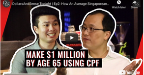 A million dollars in CPF by 55 - Is it possible for the average Joe?