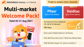 Moomoo Trading App Review (Free 2 Pfizer shares worth ~USD98 for new sign ups)