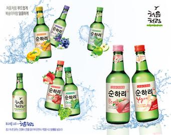 韓國樂天初飲初樂燒酒