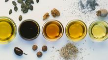 Cuisiner avec les bonnes huiles, pour se faire du bien!