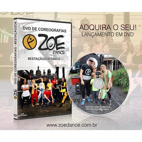 DVD ESTAÇÃO ZOE DANCE