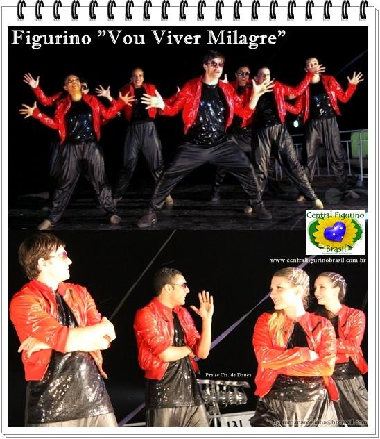 FIGURINO - VOU VIVER MILAGRE
