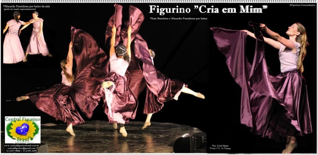 acb03635df Central Figurino BRASIL e CAPÉZIO | Praise Cia. de Dança | Brasil