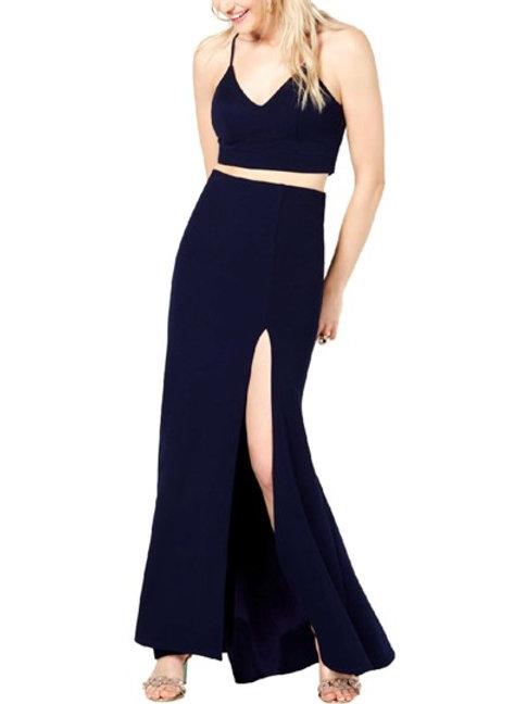 B. Darlin Lace Inset 2 pc Dress