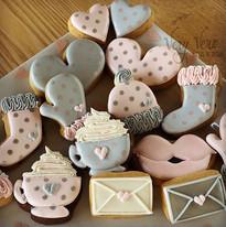 Petits biscuits pour la Saint Valentin..