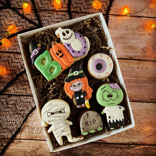 Coffret Halloween Friends - Taille 16 cm x 22 cm