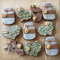 Rustic wedding cookies 🌻._.jpg