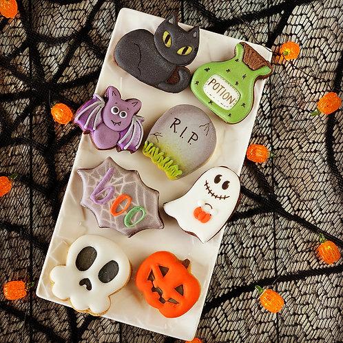 Box avec 8 biscuits Halloween