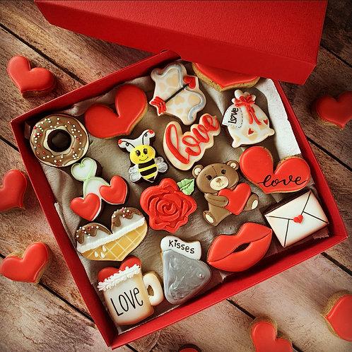 Coffret Love Deluxe - 16 biscuits