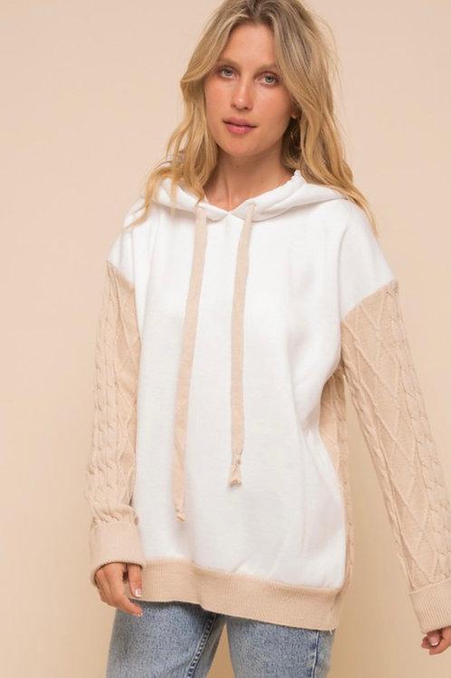Cozy Two Toned Sweatshirt